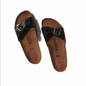 Birkenstock Sandals with Mermaid Scales